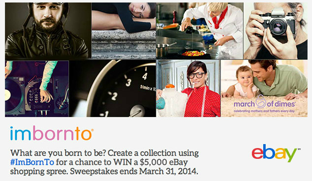 Curate for a cause with eBay and the March of Dimes   The Momiverse
