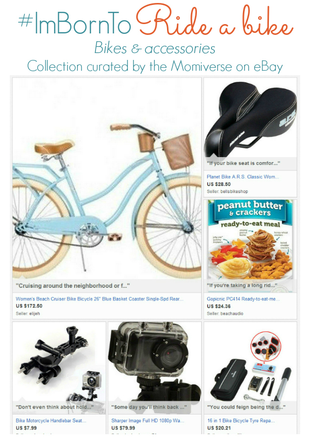 #ImBornTo Ride a bike   Collection curate by the Momiverse on eBay