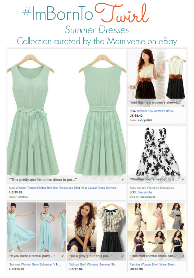 #ImBornTo Twirl - Summer dresses | Collection curated by the Momiverse on eBay