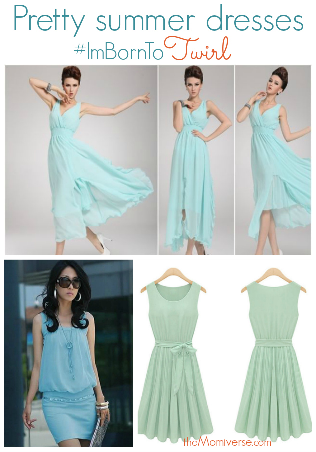 Pretty summer dresses #ImBornTo Twirl | The Momiverse | #FollowItFindIt