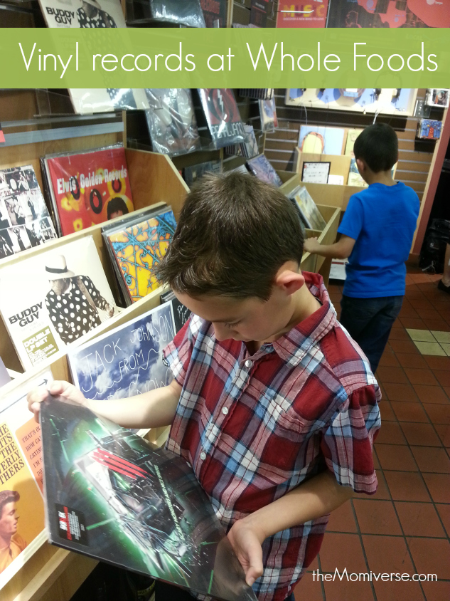 Vinyl Records at Whole Foods Market | The Momiverse
