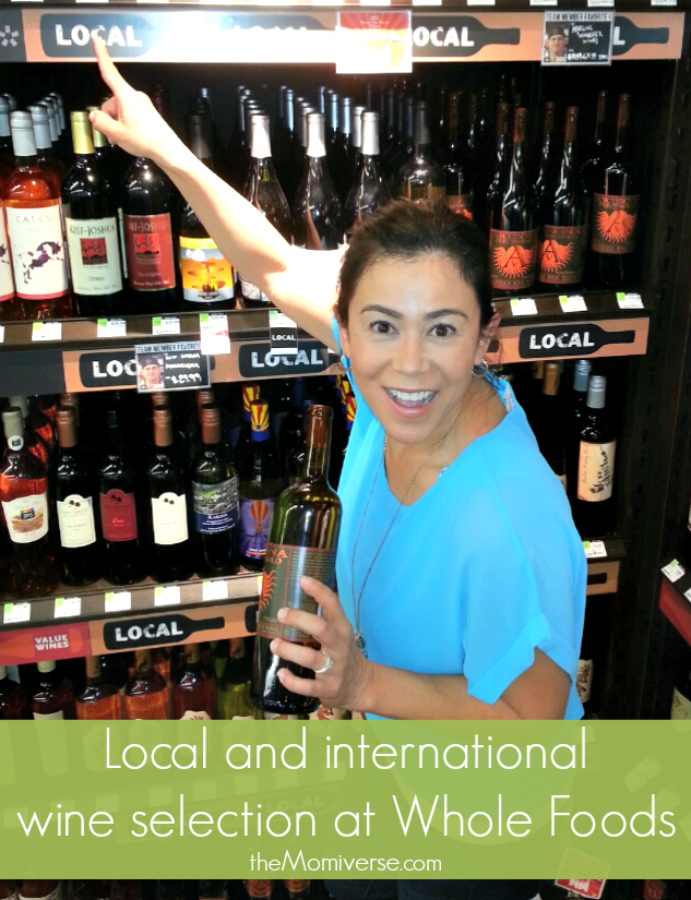 Local and international wine selection at Whole Foods Market | The Momiverse