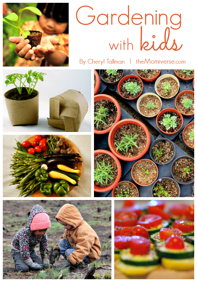 Dig in! Gardening with kids | The Momiverse | Article by Cheryl Tallman