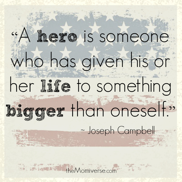 Quote by Joseph Campbell | The Momiverse | Memorial Day
