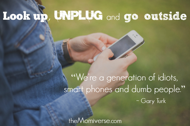 Digital detox: Look up, unplug and go outside | The Momiverse | Videos featuring Gary Turk, Zachary Levi, Sesame Street