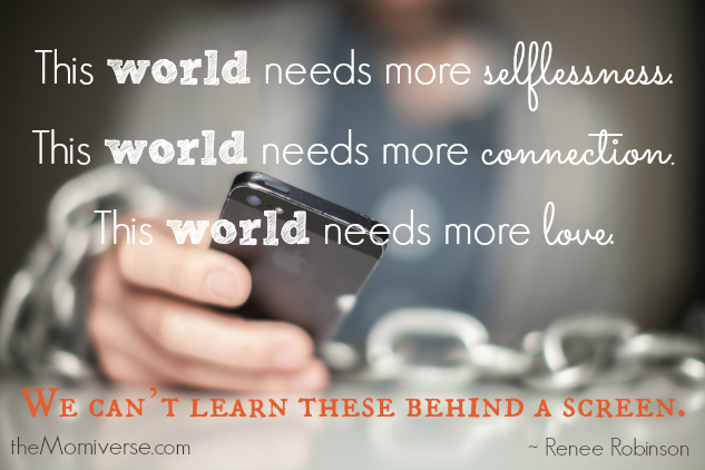 The world needs_Renee Robinson quote_theMomiverse