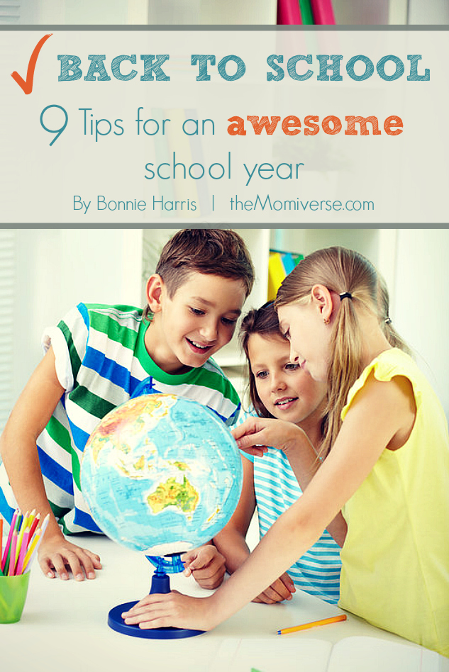 Back to school: 9 Tips for an awesome school year | The Momiverse | Article by Bonnie Harris