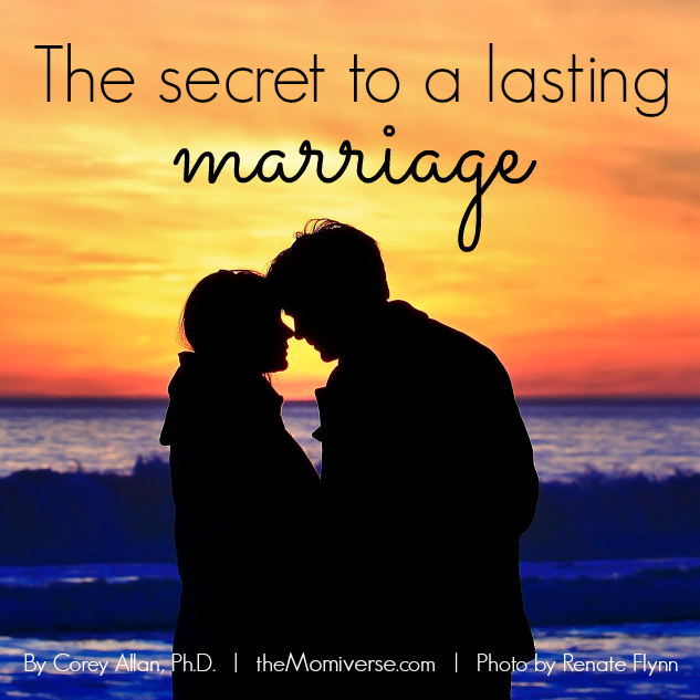 The secret to a lasting marriage | Article by Corey Allan, Ph.D. | Photo by Renate Flynn