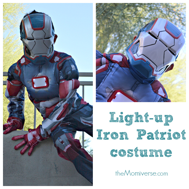 Light-up Iron Patriot costume  sc 1 st  The Momiverse & Little superheroes: Halloween costumes from @chasenfireflies | The ...