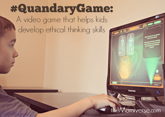 Quandary: A video game that helps kids develop ethical thinking skills_© TheMomiverse