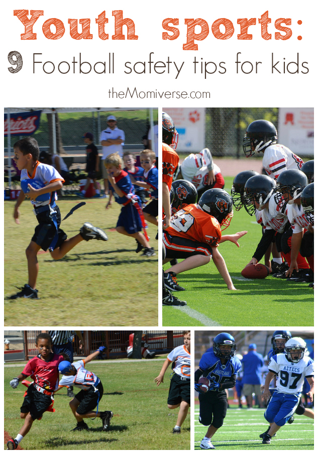 Youth sports: 9 Football safety tips for kids | The Momiverse | #AflacSweeps