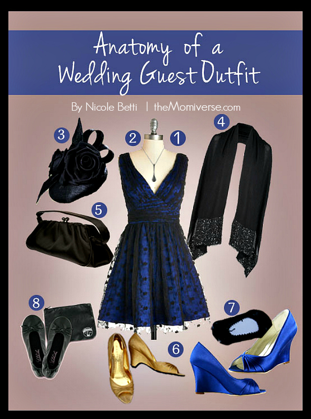 Anatomy of a Wedding Guest Outfit: How to Put Together the Perfect Look | The Momiverse | Article by Nicole Betti