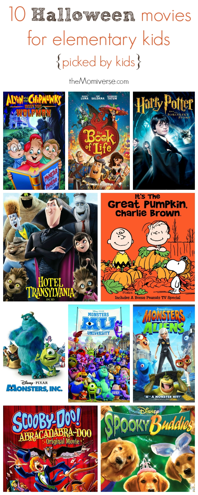 10 Halloween movies for elementary kids {picked by kids} | The Momiverse