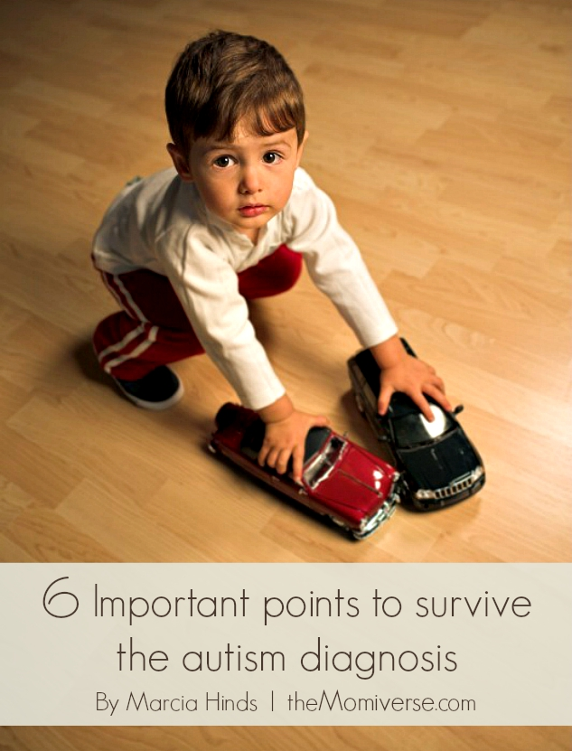 6 Important points to survive the autism diagnosis   The Momiverse   Article by Marcia Hinds