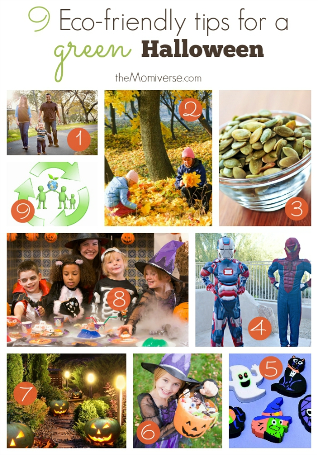 9 Eco-friendly tips for a green Halloween