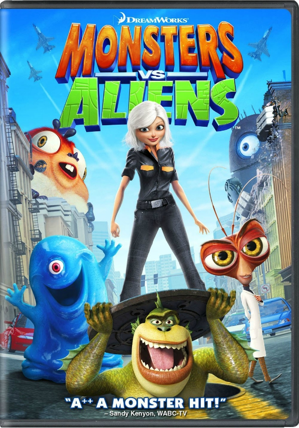 Monsters vs. Aliens | The Momiverse