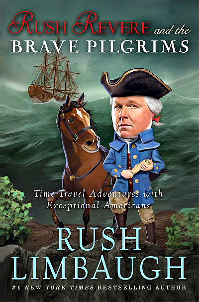 Rush Revere and the Brave Pilgrims: Time-Travel Adventures with Exceptional Americans | The Momiverse