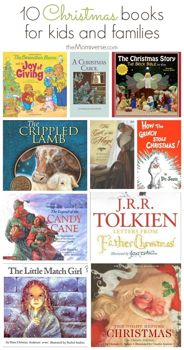 10 Christmas Books for kids and families | The Momiverse