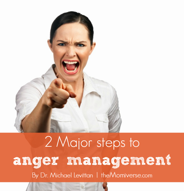 2 Major steps to anger management | The Momiverse | Article by Dr. Michael Levittan