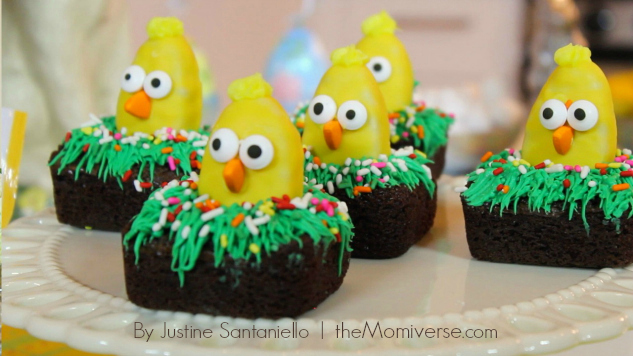 Brownie chickadees The Momiverse Article by Justine Santaniello