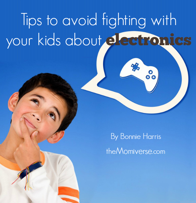 Tips to avoid fighting with your kids about electronics | The Momiverse | Article by Bonnie Harris