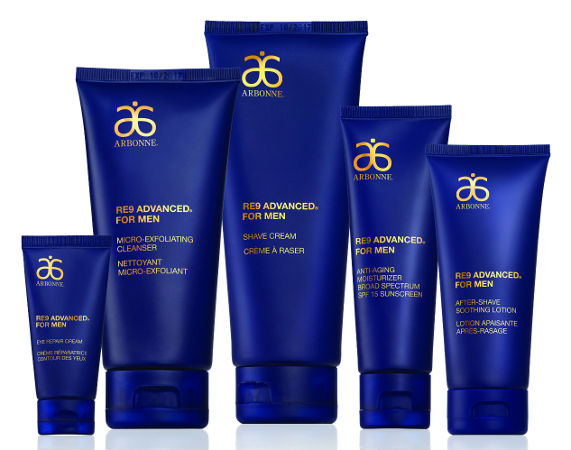 Arbonne RE9 Advanced for Men Skincare | The Momiverse