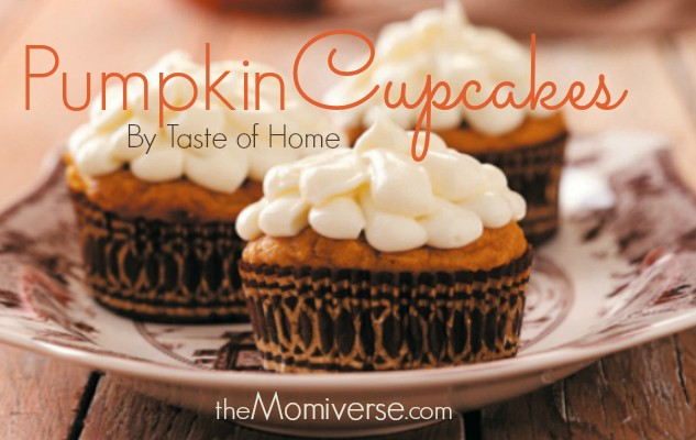 Pumpkin Cupcakes Taste Of Home